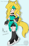 Marie Anna Greenhill .: Re-Draw:. by shadyever