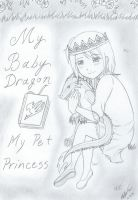 COVER NaLu My Baby Dragon - My Pet Princess Chap 1 by Inubaki