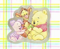 baby pooh and friends by insatiable728