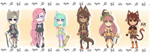 ::Adopts:: HALLOWEEN 2014 SET 03 CLOSED by K0USEKI