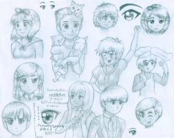 Anime/Manga style practice by ExtraterestrialMufin
