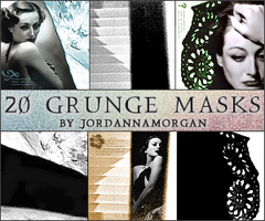 Grunge Masks Icon Textures by jordannamorgan