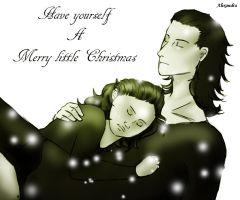 Have yourself a merry Christmas by Loki-lover2000
