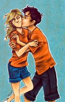 Percabeth Love by yurixmeister