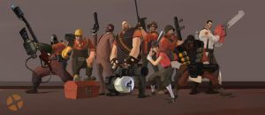 Team Fortress 2 dudes by uksusss