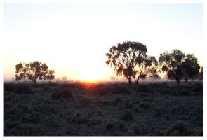 Nyngan Sunrise by HubertCumberdale
