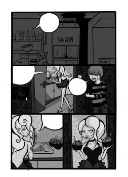 PAGE 01 EXAMPLE GREY SCALE by mybrains206