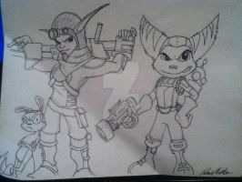 Ratchet And Clank Art by PatrickOlsen