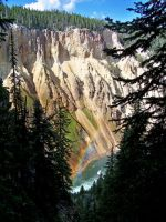 Grand Canyon of Yellowstone by AMLensCreations