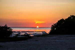 new port richey sunset 1 by ChasMandala