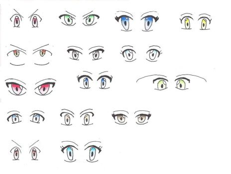 Pokemon Special: eyes by InsertUIL
