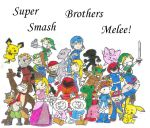 Super Smash Brothers Melee by Ericketiting
