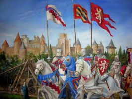 Siege of Carcassonne CS by dashinvaine