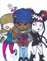 justDEF - Millie DJ and Desdemona by Just-Def
