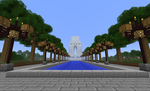 Minecraft Creations 6 War Veteran's Memorial by gamequeer