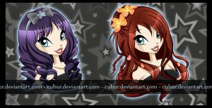 Com: Hair style and Color by CuBur