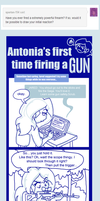 Tumblr comic (Gun Safety) by AceroTiburon