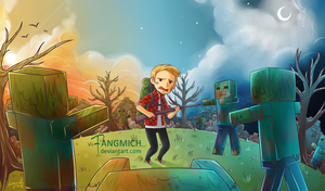 Commission Youtube header 2 by fangmich