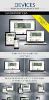 Devices - Responsive Web Mock-ups by carlosnance