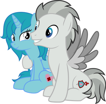 Silver Maelstrom And Princess Ariana By Thedar by Kittamaru