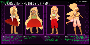 Rues Chara Progression meme by NaruRuna