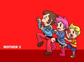 Mother 3 by PleasePleasePepper