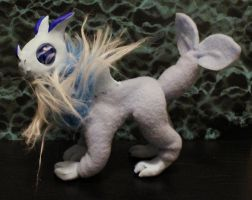 Fluffy Water Dragon Poseable by superayaa