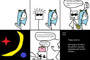 Stick Dude Comix 20 --- last straw by TheGame22q
