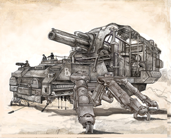 Heavy Artillery Arach by Monkey-Paw