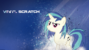 Vinyl Scratch - Wallpaper Clean by P3r0