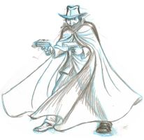 the Shadow sketch by AlanSchell
