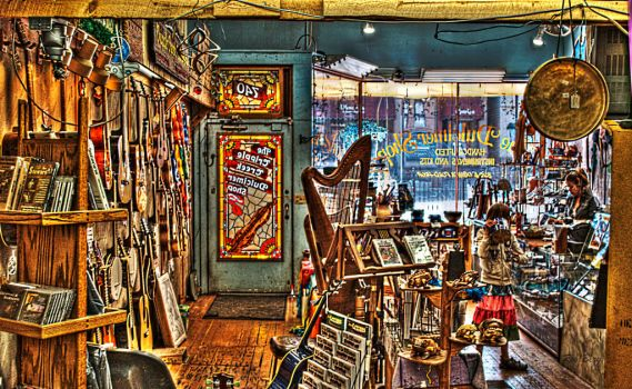 Cripple Creek Dulcimer Shop by Reginhild