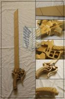 Attack On Tittan 3DMG Sword (Unpainted) by Sephiroths-Shadow