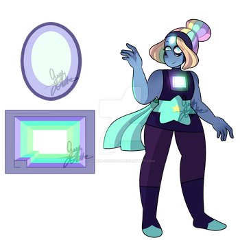 Rainbow Topaz ( Bismuth/Pearl ) by Aaron-Goforth