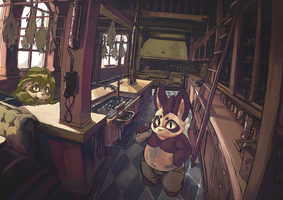 The Kitchen by Duiker