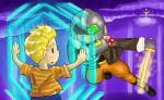 Lucas vs Masked Man by Archwig