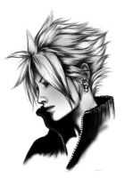 Cloud Strife by Akima-Hawa-Nedegie