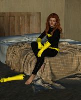 Batgirl Lounging by MickLee99