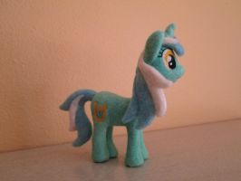 Needle Felted Plush  Lyra Heartstrings, MLP by imaginaryfriends2012
