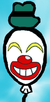 everybody loves a clown baloon by aromatic-grass