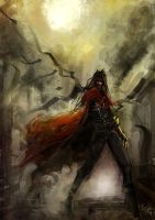 Vincent Valentine FF7 by Gold-copper