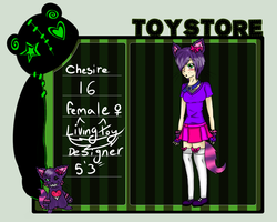 Toy-Story app: Cheshire by Tess-Is-Epic
