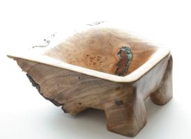 Burl Bowl Finished by lamorth-the-seeker