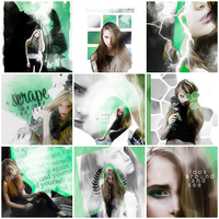 Green Icons by EmeliaJane