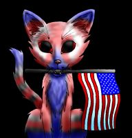 Patriot Kitty by Ultralee0