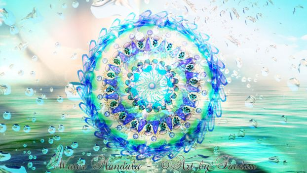 Water Mandala by Faedou