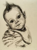 baby portrait by RasicART