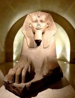 The Great Sphinx of tanis by AfroDitee