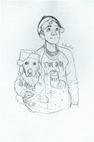 Ethan and Chica by Jackid13
