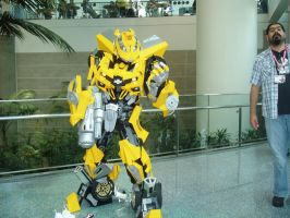 AX 2009 Transformers Bumblebee by The-Clockwork-Crow